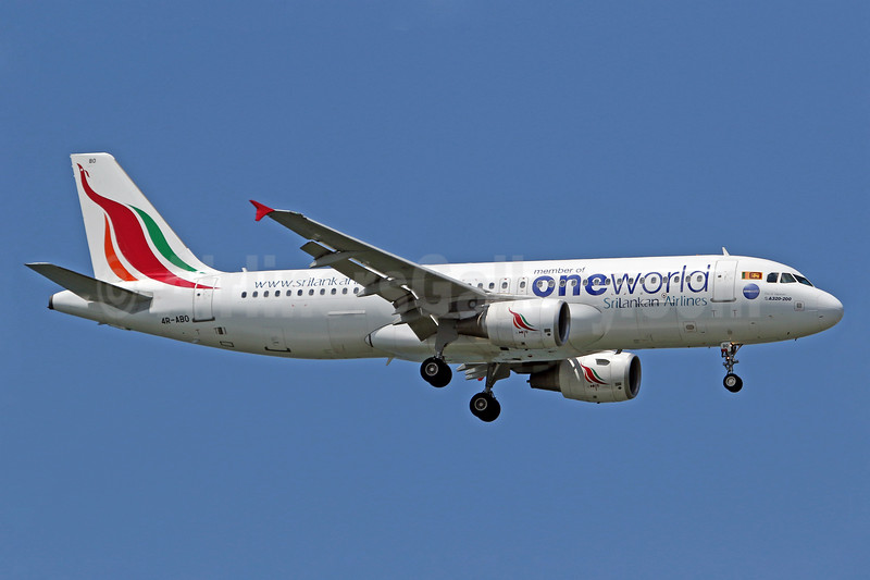 SriLankan Airlines Airbus A320-214 4R-ABO (msn 4915) (Oneworld) SIN (Pascal Simon). Image: 939673.