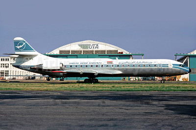 Syrian Arab Airlines Sud Aviation SE.210 Caravelle 10B3 YK-AFC (msn 183) LBG (Christian Volpati). Image: 902363.