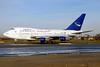 Syrian Air Boeing 747SP-94 YK-AHB (msn 21175) AMS (Ton Jochems). Image: 900383.