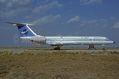 Syrianair (Syrian Arab Airlines) Tupolev Tu-134B-3 YK-AYE (msn 66187) DAM (Christian Volpati Collection). Image: 923682.