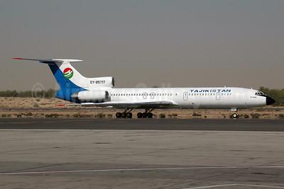 Tajikistan Airlines Tupolev Tu-154M EY-85717 (msn 91A897) SHJ (Ton Jochems). Image: 955543.