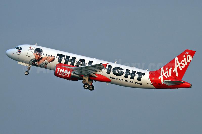 Thai AirAsia's Thai Fight logojet