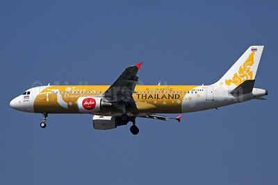 AirAsia (Thai AirAsia) Airbus A320-216 HS-ABX (msn 4917) (Amazing Thailand - 2015 - Discover Thainess) DMK (Rob Finlayson). Image: 930722.