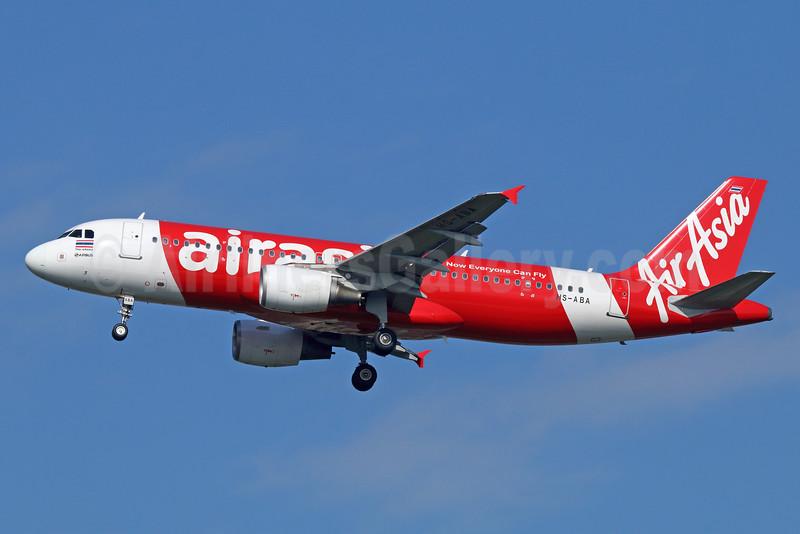 AirAsia (Thai AirAsia) Airbus A320-216 HS-ABA (msn 3277) DMK (Michael B. Ing). Image: 925578.
