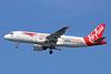 Thai AirAsia's Thailand Post - EMS logo jet