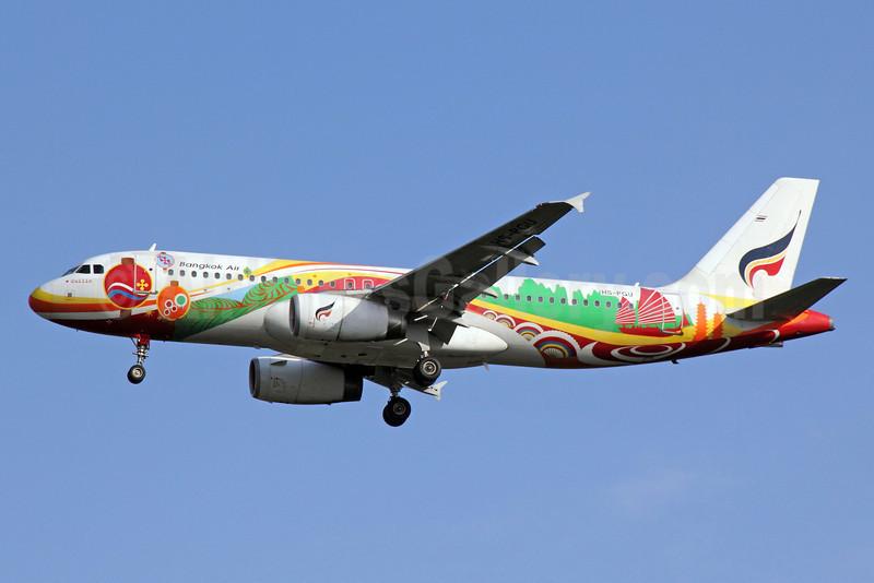 Bangkok Air (Bangkok Airways) Airbus A320-214 HS-PGU (msn 2254) (Guilin) BKK (Michael B. Ing). Image: 910855.