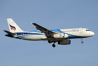 Bangkok Air (Bangkok Airways) A320-232 HS-PPJ (msn 2366) BKK (Paul Denton). Image: 939067.