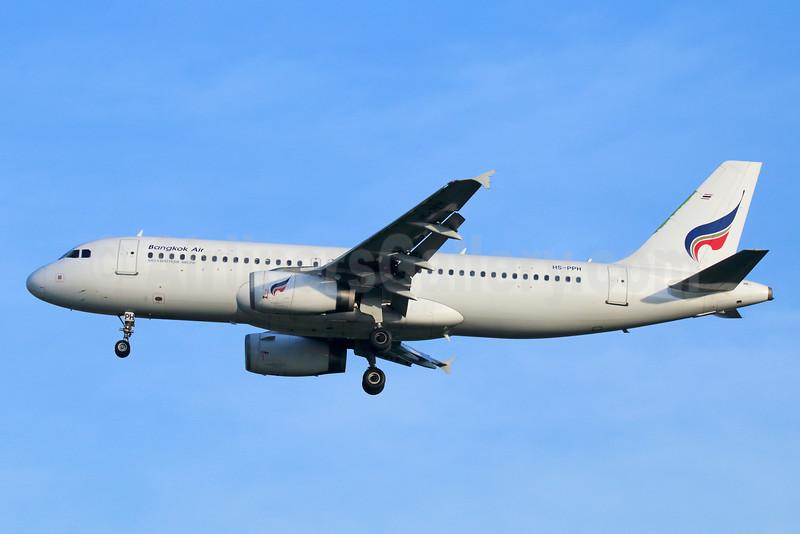 Bangkok Air (Bangkok Airways) A320-232 HS-PPH (msn 2783) BKK (Michael B. Ing). Image: 928950.