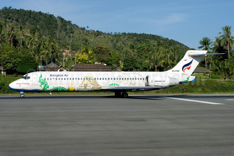 Bangkok Air (Bangkok Airways) Boeing 717-231 HS-PGR (msn 55074) (Luang Prabang) USM (Gunter Mayer). Image: 910851.