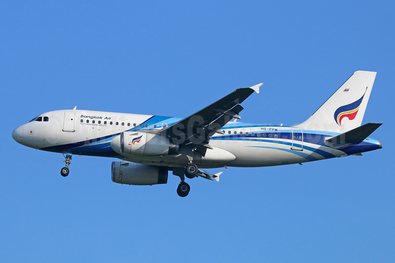 Bangkok Air (Bangkok Airways) Airbus A319-132 HS-PPM (msn 2273) BKK (Michael B. Ing). Image: 934558.