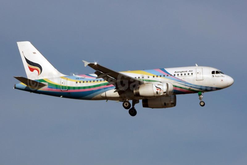 Bangkok Air (Bangkok Airways) Airbus A319-132 HS-PGY (msn 3454) (Angkor Wat) BKK (Jay Selman). Image: 903518.