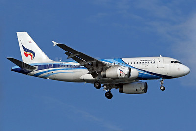 Bangkok Air (Bangkok Airways) Airbus A319-132 HS-PPM (msn 2273) SIN (Pascal Simon). Image: 939065.