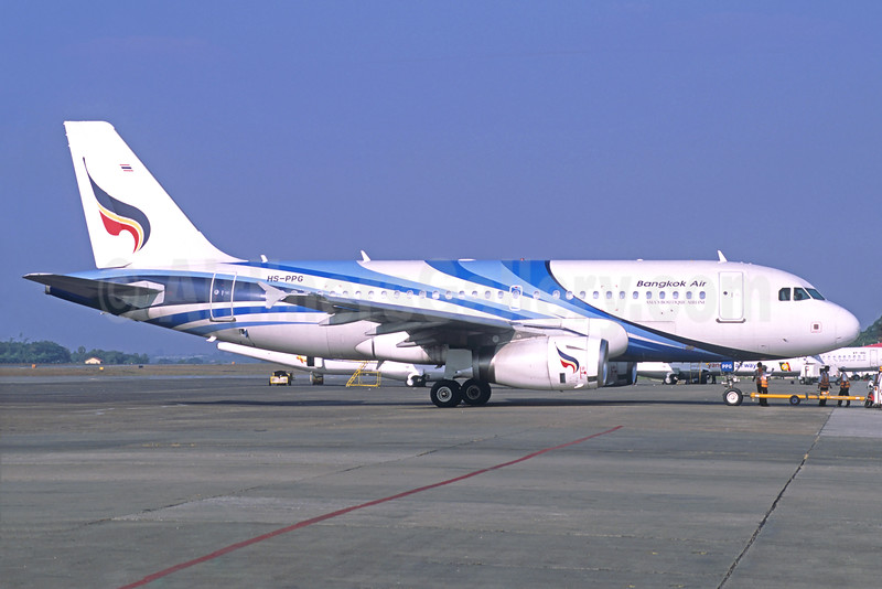 Bangkok Air (Bangkok Airways) Airbus A319-131 HS-PPG (msn 2664) RGN (Christian Volpati Collection). Image: 923445.