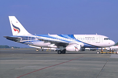 Bangkok Air (Bangkok Airways) Airbus A319-131 HS-PPG (msn 2664) RGN (Christian Volpati Collection). Image: 923445.