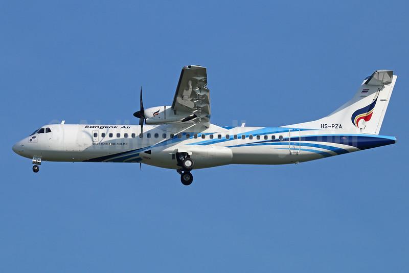 Bangkok Air's first ATR 72-600, delivered Nov. 26, 2014