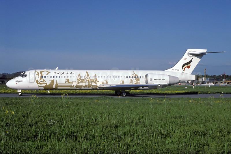 """Bangkok Air's 2001 """"Angkor Wat"""" special livery"""