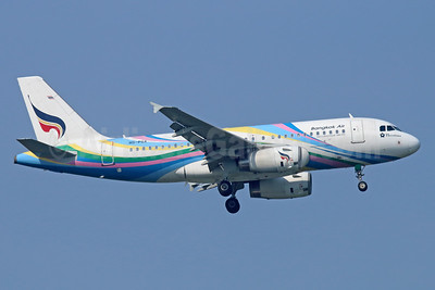 Bangkok Air (Bangkok Airways) Airbus A319-132 HS-PGX (msn 3424) BKK (Michael B. Ing). Image: 934561.
