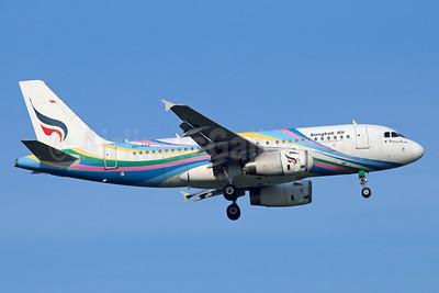 Bangkok Air (Bangkok Airways) Airbus A319-132 HS-PGZ (msn 3694) BKK (Michael B. Ing). Image: 920211.