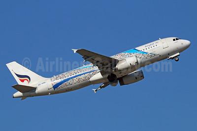 Bangkok Air (Bangkok Airways) A320-232 HS-PPD (msn 2531) (Flying Bags) BKK (Michael B. Ing). Image: 921756.