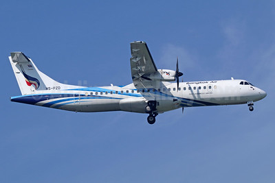 Bangkok Air (Bangkok Airways) ATR 72-212A (ATR 72-600) HS-PZD (msn 1296) BKK (Michael B. Ing). Image: 939069.