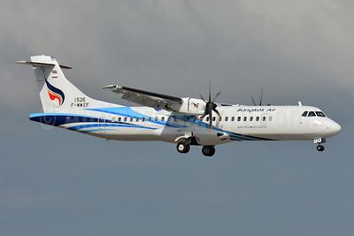 Bangkok Air (Bangkok Airways) ATR 72-212A (ATR 72-600) F-WWEF (HS-PZM) (msn 1526) TLS (Paul Bannwarth). Image: 944210.
