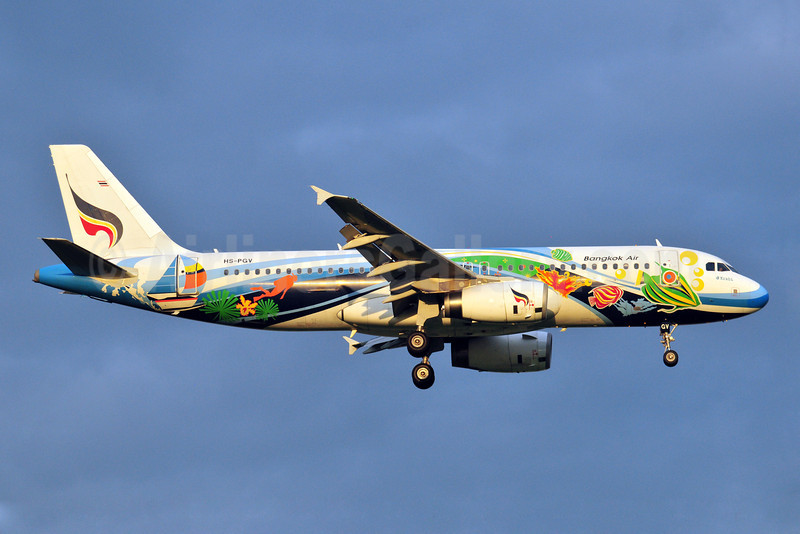 Bangkok Air (Bangkok Airways) Airbus A320-232 HS-PGV (msn 2310) (Krabi) BKK (Ken Petersen). Image: 907273.