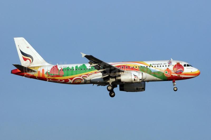 Bangkok Air (Bangkok Airways) Airbus A320-214 HS-PGU (msn 2254) (Guilin) BKK (Jay Selman). Image: 402224.