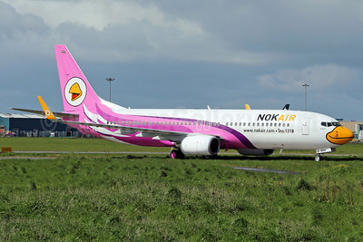 Nok Air Boeing 737-8AS HS-DBM (msn 33594) SNN (Malcolm Nason). Image: 912374.