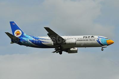 Nok Air Boeing 737-4Y0 HS-DDO (msn 26081) DMK (Ken Petersen). Image: 907451.