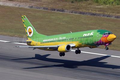 Nok Air Boeing 737-4D7 HS-TDE (msn 26612) HKT (Sam Chui). Image: 905887.
