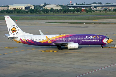 Nok Air Boeing 737-8AS WL HS-DBA (msn 33813) DMK (Jay Selman). Image: 402278.
