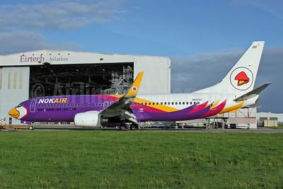 Nok Air Boeing 737-8AS WL N840AC (HS-DBA) (msn 33813) SNN (Malcolm Nason). Image: 907390.