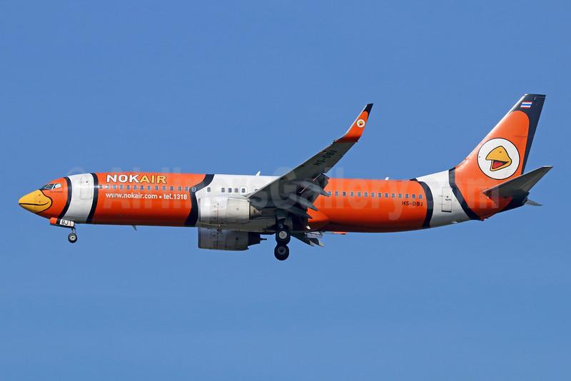 Nok Air Boeing 737-83N WL HS-DBJ (man 32616) DMK (Michael B. Ing). Image: 925573.