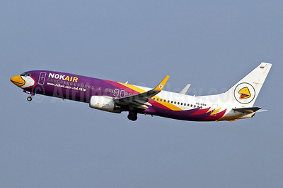 Nok Air Boeing 737-8AS WL HS-DBB (msn 33814)  DMK (Keith Burton). Image: 922109.