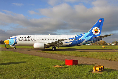 Nok Air Boeing 737-4Y0 UR-GAR (HS-DDO) (msn 26081) SEN (Keith Burton). Image: 905646.