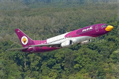 Nok Air Boeing 737-4D7 HS-TDA (msn 24830) HKT (Sam Chui). Image: 907076.