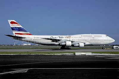 One-Two-Go Airlines by Orient Thai Boeing 747-146 HS-UTM (msn 23637) BKK (Christian Volpati). Image: 941472.