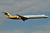 Orient Thai Airlines McDonnell Douglas DC-9-82 (MD-82) HS-MDL (msn 49853) BKK (Ken Petersen). Image: 920611.
