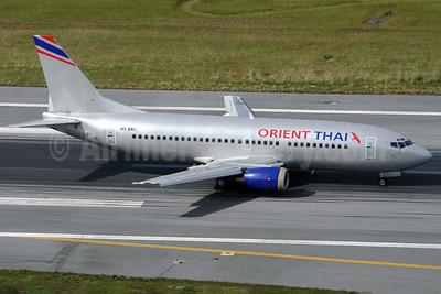 Orient Thai Airlines Boeing 737-3Z0 HS-BRJ (msn 27176) HKT (Richard Vandervord). Image: 923630.