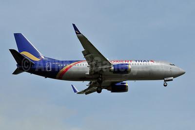 Orient Thai Airlines Boeing 737-3T0 WL HR-BRA (msn 23374) DMK (Ken Petersen). Image: 907099.