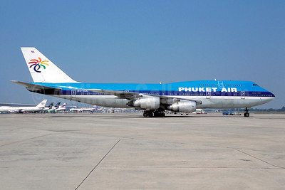 Phuket Air Boeing 747-206B HS-VAA (msn 21848) (KLM colors) DMK (Christian Volpati Collection). Image: 944929.