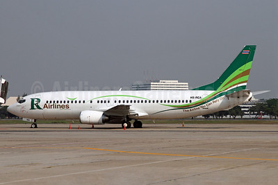 R Airlines-Skyview Airways Boeing 737-484 HS-RCA (msn 25313) DMK (Duncan Kirk). Image: 911873.