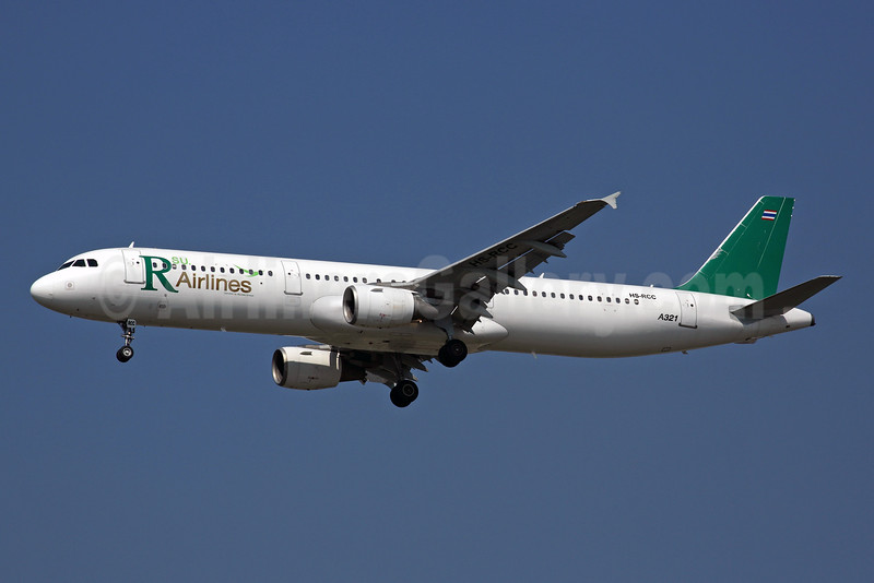 R Airlines' first Airbus A321