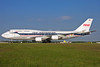 The Boeing 747-400 1960 retro jet from February 2010 - November 2013