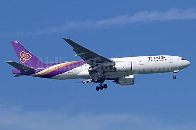 Thai Airways International Boeing 777-2D7 ER HS-TJT (msn 34588) BKK (Michael B. Ing). Image: 937172.