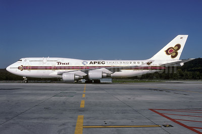 "Thai's 2003 ""APEC Thailand 2003"" special markings"