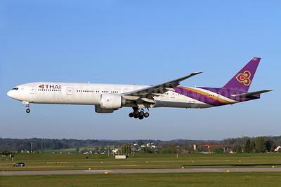 Thai Airways International Boeing 777-3AL ER HS-TKL (msn 41521) ZRH (Andi Hiltl). Image: 937755.