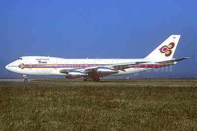 Thai Airways International Boeing 747-2D7B, HS-TGB (msn 21783) CDG (Christian Volpati). Image: 940096.