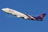 Thai Airways International Boeing 747-4D7 HS-TGB (msn 32370) LHR (SPA). Image: 924371.
