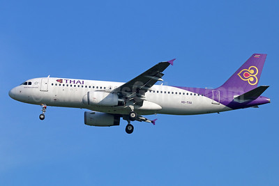 "Ex Thai Smile, named ""Ubon Ratchathani"""